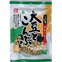 川越屋 大豆とこんぶ 75g×12袋