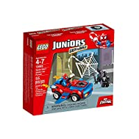 輸入レゴ LEGO Juniors 10665 Spider-Man: Spider-Car Pursuit [並行輸入品]