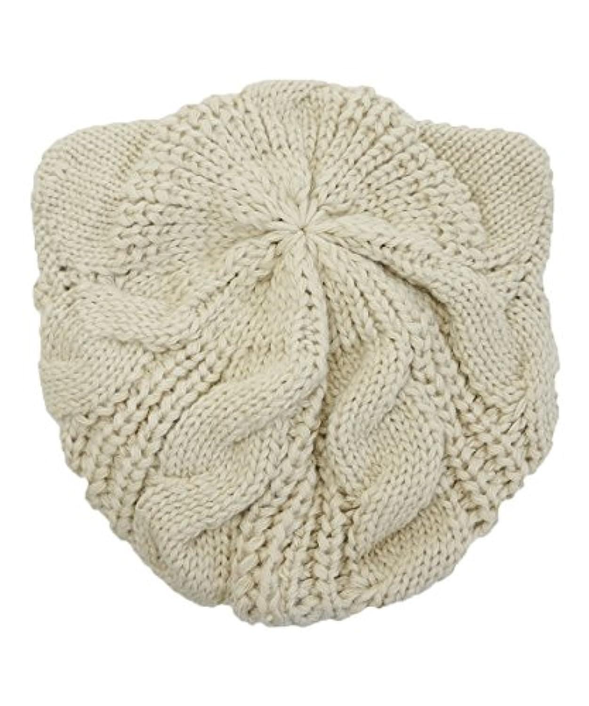 ドリームウォーク 猫耳ニットベレー帽 (子供サイズ?大人サイズ) 5色 ベレー帽 親子でおそろい