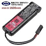 東京マルイ tokyo marui 大容量 1600mAh 8.4V Mini-S ミニS互換バッテリー(次世代電動ガン/従来電動ガン共用)