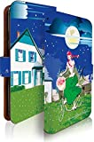 g08 ケース 手帳型 赤毛のアン 夜空 赤毛 アン ジー 手帳型ケース 手帳型カバー 童話 夜空 [赤毛のアン 夜空/t0678]