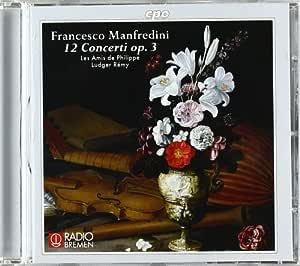 マンフレディーニ:12の協奏曲Op.3