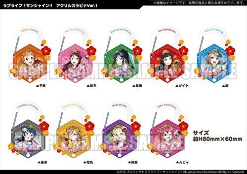 ラブライブ!サンシャイン!! トレーディングミニ色紙Ver.5 BOX商品 1BOX=12個入り、全12種類
