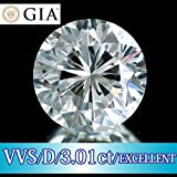 【GIA鑑定付】 最極上3EX VVS-1 クラス Dカラー 3.01ct Excellent 天然ダイヤモンド ルース 裸石製造元大卸