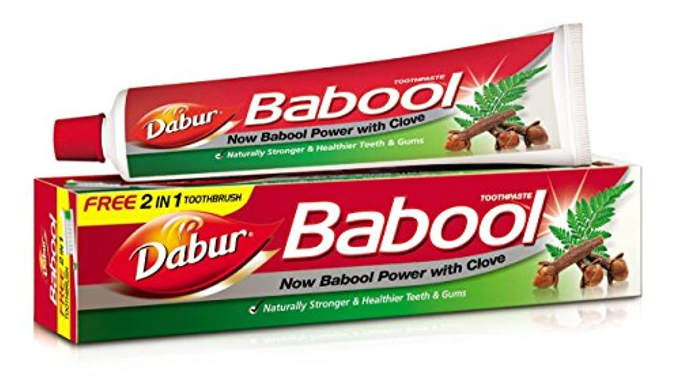 階シニスかなりDabur Babool Toothpaste 80 Grams - India