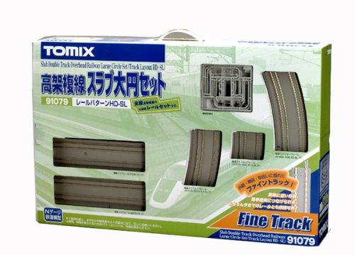 TOMIX Nゲージ 91079 高架複線スラブ大円セット (HD-SLパターン)
