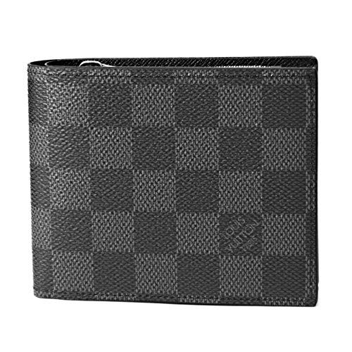 ルイヴィトン(Louis Vuitton) ダミエ グラフィット DAMIER GRAPHITE N41635 2つ折り財布 ブラック 黒/グレー[並行輸入品]