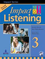 Impact Listening (2E) Level 3 Student Book with CD