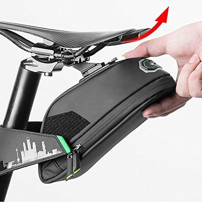 アルバニー開発する事実上防雨自転車バッグ、自転車ブラックサイクリング後部座席パニエMTB自転車アクセサリー用耐衝撃性自転車サドルバッグ