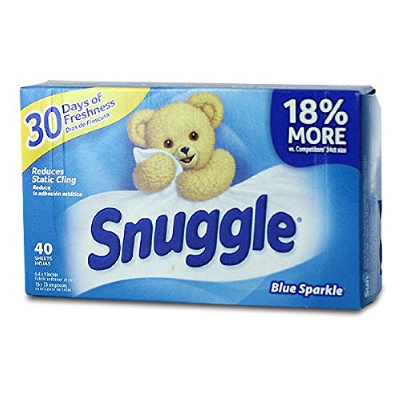 【Snuggle】スナッグル シート柔軟剤(ブルースパークル)40枚