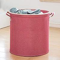 ZZHF xiyilan ストレージバスケット、家庭用ハンマー洗濯衣類ピンセット余分な大型折り畳み玩具のストレージバスケットのファブリックのバスルームの防水ストレージバケツ3鋼鉄フレームのサポートは、68キロの防水オックスフォード布環境保護床に耐えることができます バスケット (色 : B)
