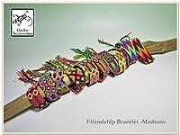 【Gecko Accessories】Friendship Bracelet-Medium-フレンドシップブレスレット・ミサンガ (Colour I)