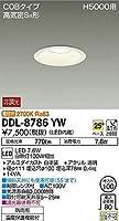 大光電機(DAIKO) LEDダウンライト (LED内蔵) LED 7.6W 電球色 2700K DDL-8786YW