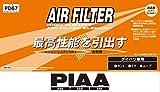 PIAA エアーフィルター 1個入 [ダイハツ車用] ハイゼット・タント・テリオス_他 PD67