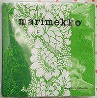 マリメッコ ペーパーナプキン 25cm ANANAS green marimekko 1パック20枚入り 北欧 [並行輸入品]