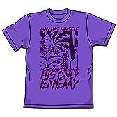 ヱヴァンゲリヲン新劇場版 初号機ENEMYTシャツ Vパープル サイズ:L