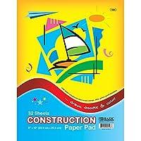 BAZIC 32 Ct. 9 X 12 Construction Paper Pad (Case of 48) [並行輸入品]