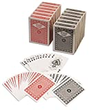 おもちゃ Diamond Playing Cards: 12 Decks (6 Red 6 Black) Poker Size Regular Index Plastic Coated Playing Cards by Da Vinci Made In Taiwan [並行輸入品]