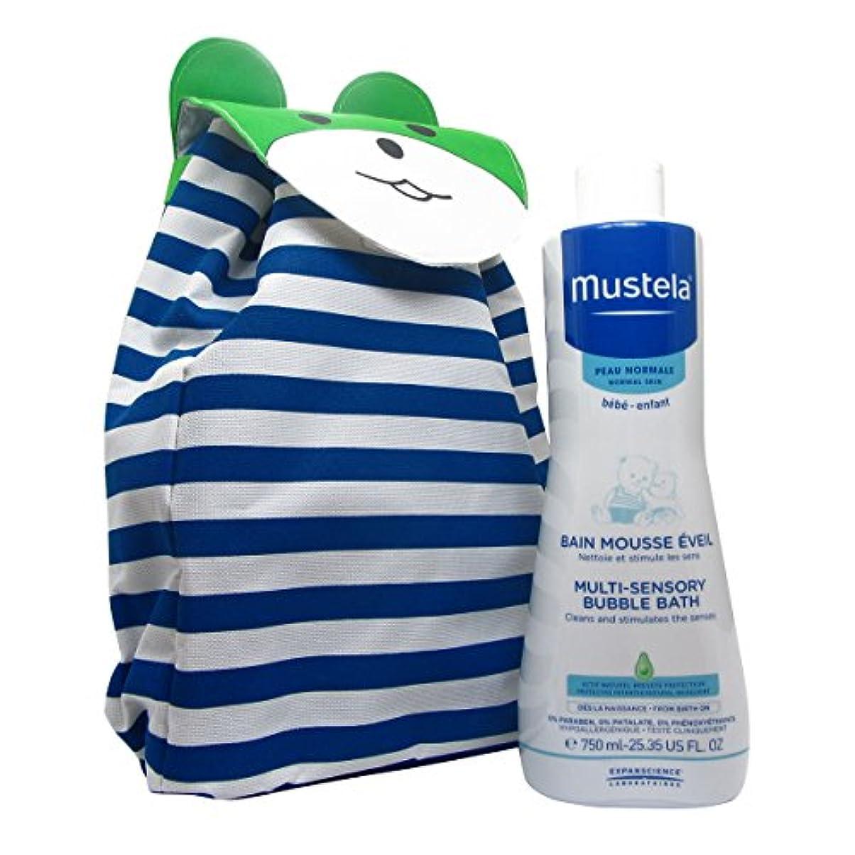 ブラザーオーバーラン称賛Mustela Baby Pack Sensory Bubble Bath 750ml Giant [並行輸入品]