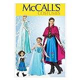 【McCall】アナと雪の女王 アナ エルサ コスチューム 型紙セット 子供用 *7000