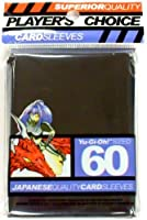 Player's Choice Yu-Gi-Oh! Black Sleeves (Pack of 60) - Designed for Smaller Gaming CCGs - Deck Protectors - Ideal for