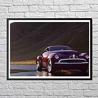 スポーツカーのポスター、みんなクールなスポーツカーが好きです。 フォトフレーム、完璧なデザインアートポスター - 12 x 10インチ