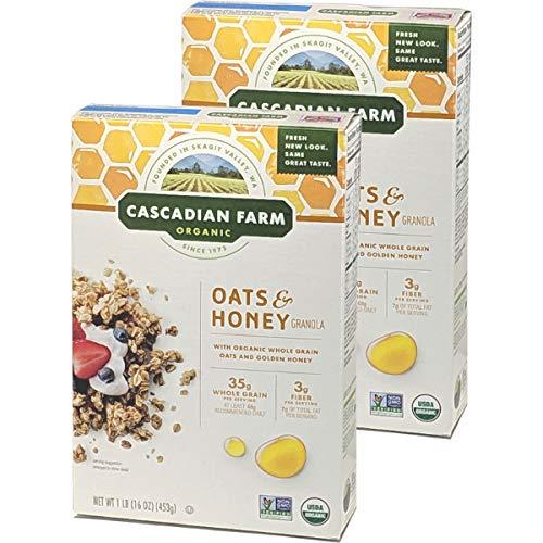カスカディアンファーム オーガニック グラノーラ 選べる2個セット Cascadian Farm Organic Granolas 2 Set (オーツ&ハニー 2個)
