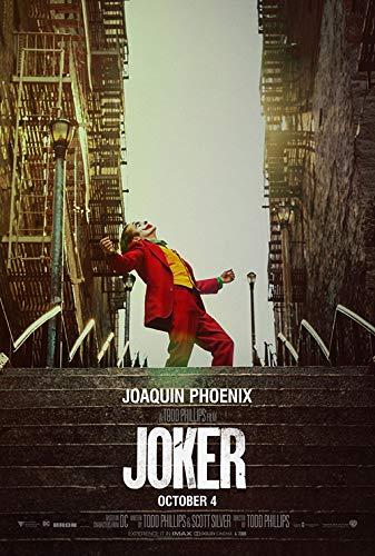 映画ポスター ジョーカー Joker グッズ ホアキン・フェニックス/アメコミ バットマン アート インテリア フレーム別 /2nd ADV-両面