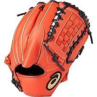 asics(アシックス) 軟式 野球用 グローブ 投手兼内野(左投げ用) 一般用 NEORIVIVE ネオリバイブ サイズ8 2019年モデル 3121A221 T.Rオレンジ/ブラック RH(左投げ用)