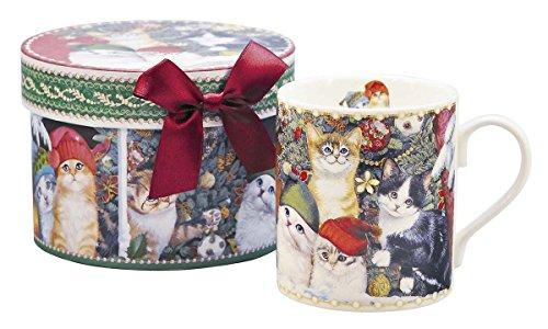 クリスマス ショート マグカップ / キャット (ギフトボックス付) BRV-2423