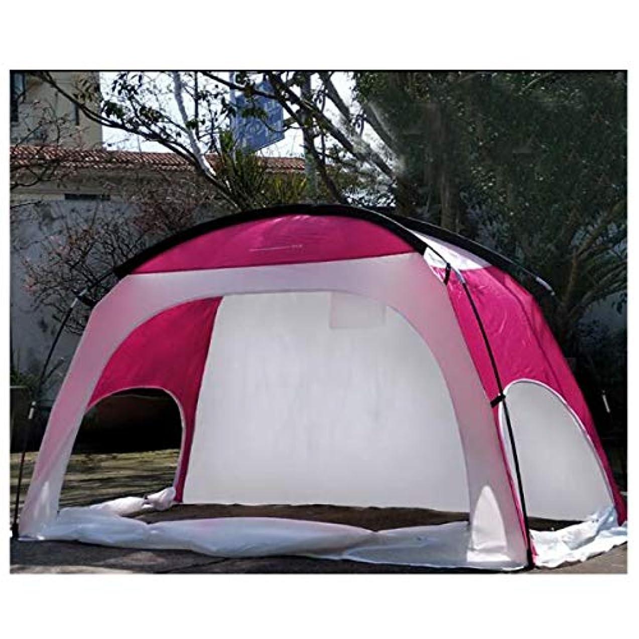 進化病弱砂テント、ハイエンドの テントが付いている最下の日焼け止めの屋内手のない屋外の1-2-3公園のキャンプ、赤