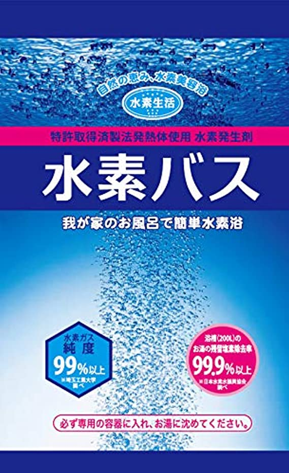 中性修羅場不毛の水素生活 水素バス 水素剤 1ケース(25g 10袋入×6箱)