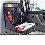 【ノーブランド品】 車載 折り畳み 簡易 テーブル PC作業や食事に最適!!