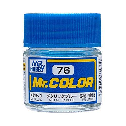 クレオス Mr.カラー C76 メタリックブルー
