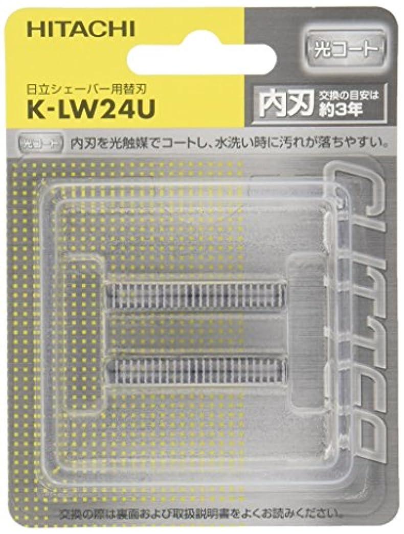 ランチ拡張割れ目日立 メンズシェーバー用替刃 K-LW24U