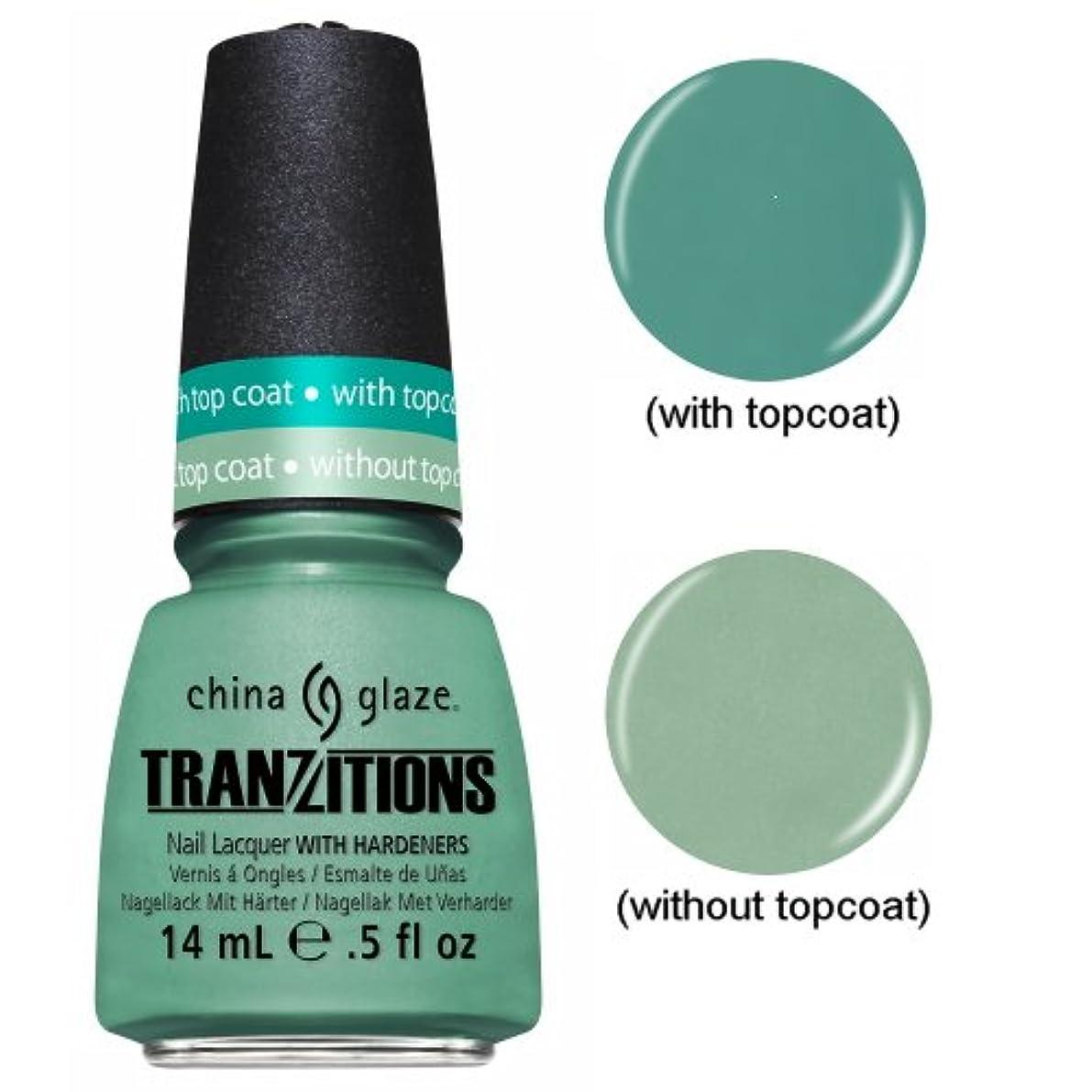 骨髄ゴム保存する(3 Pack) CHINA GLAZE Nail Lacquer - Tranzitions - Duplicityy (並行輸入品)