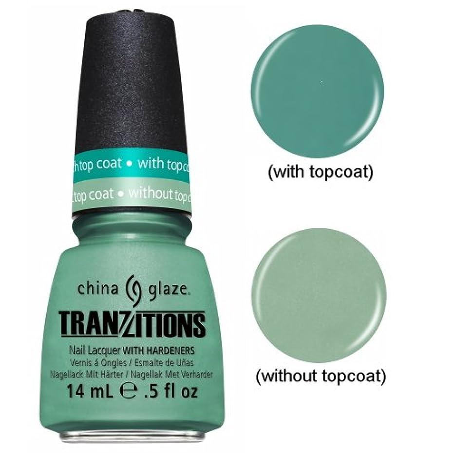 規模成熟消去(3 Pack) CHINA GLAZE Nail Lacquer - Tranzitions - Duplicityy (並行輸入品)
