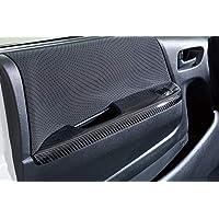 AKEa トヨタ 200系 ハイエース用 カーボン製ドアスイッチパネル2点セット