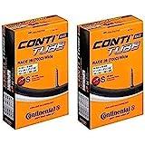 2本セット コンチネンタル(Continental) チューブ Race28 Wide 700×25-32c 仏式 42…