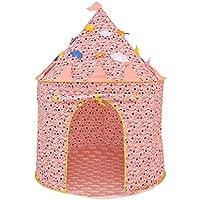 llzj Children PlayテントトンネルチューブHouse CastleプリンセスPrinceインドアアウトドア使用ポータブル折りたたみCubby Carryケース登山Playgroundストレージおもちゃゲームtent-1606
