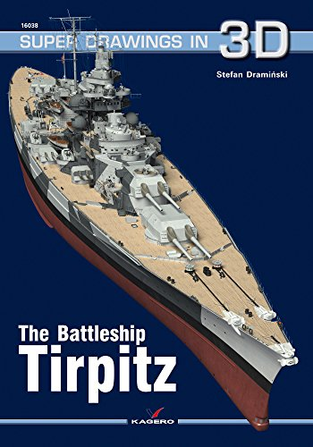 The Battleship Tirpitz (Super Drawings in 3d)