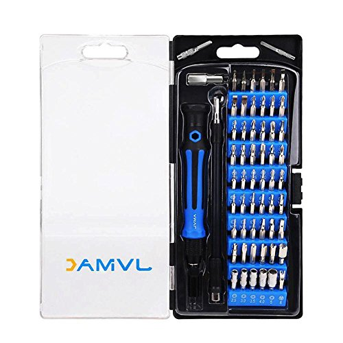 JVMAC 59in1 精密特殊ドライバーセット 修理ツール 多機能ツールキット iPhone An...