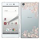 「Breeze-正規品」iPhone ・ スマホケース ポリカーボネイト [透明-Pink] エクスペリア カバー Xperia Z5[SO-01H][SOV32][501SO]