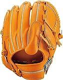ZETT(ゼット) 硬式野球 ネオステイタス グラブ (グローブ) ピッチャー用 オレンジB(5600B) 右投げ用 日本製 BPGB12911