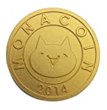 モナコインメダル MONA COIN (ゴールド)
