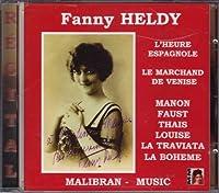 Fanny Heldy Sings Ravel,Hahn,G