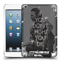 オフィシャルAMC The Walking Dead Rick Fight クオーツ iPad mini 1 / mini 2 / mini 3 専用ハードバックケース