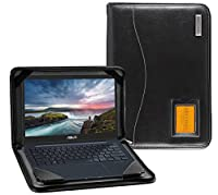 Broonel - Contour Series - ブラックレザーケース ASUS ZenBook 13 UX331UAL