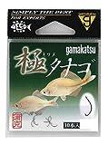 がまかつ(Gamakatsu) 針 極(キワメ) タナゴ 10本 茶 67412