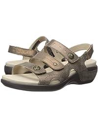 (アラヴォン)Aravon レディースサンダル・靴 PC Three Strap Metallic Taupe 8 25cm N (AA) [並行輸入品]